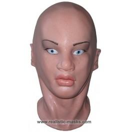 Frauenmaske aus Latex 'Amelie'