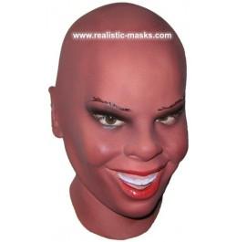 Black Beauty Latex Maske