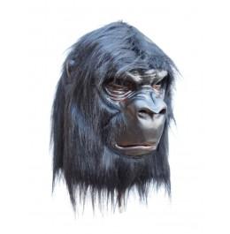 Gorilla Maske mit Kunsthaar