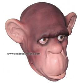 Schaumlatex Schimpanse Tiermaske Affen Maske
