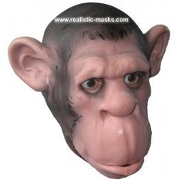 Schaumlatexmaske 'Schimpanse'