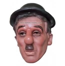 Promi Maske aus Schaumlatex 'Charly Chaplin'