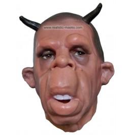 Film Maske aus Latex 'Teufelchen'