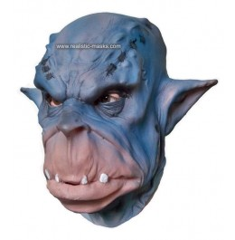 Kostüm-Maske 'Blauer Oger'