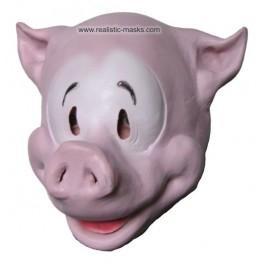 Maske für Fasching 'Comic Schweinchen'