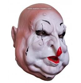 Maske Furcht einflössender Horror Clown