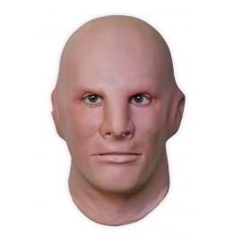 Maske aus Latex 'Emotionsloses Gesicht'
