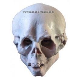 Latex Maske 'Totenkopf'