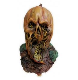 Halloween-Maske 'Verfaultes Kürbis Gesicht'