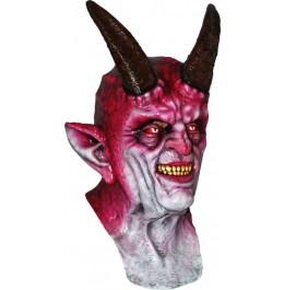 Halloween Maske 'Gehörnter Teufel'