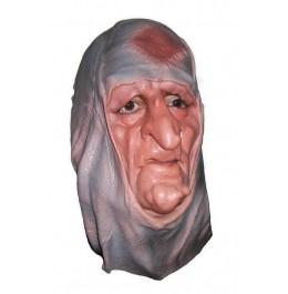 Kräuterfrau Maske aus Latex