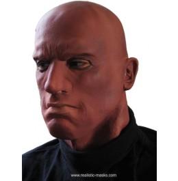 Latex Maske 'Afro Amerikaner'