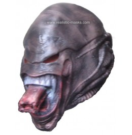 Latex Maske 'Weltraum Monster'