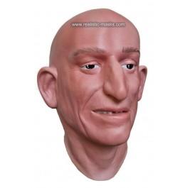 Maske realistisches Gesicht 'Der Erbschleicher'