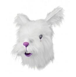 Maske Hase Weiß
