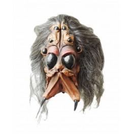 Spinnen Maske aus Latex