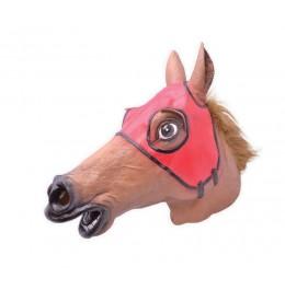 Rennpferd Maske