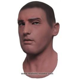 Realistische Gesichtsmaske 'Rekrut'