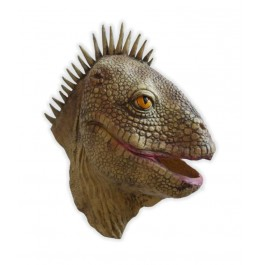 Reptil Maske aus Latex