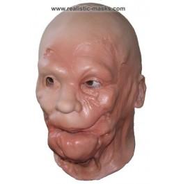 'Narbengesicht' Horrormaske aus Latex