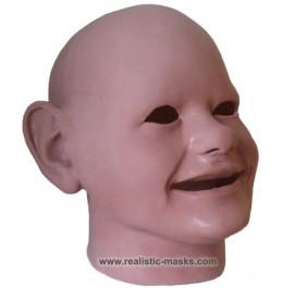Latex Maske 'Scary Babyface'