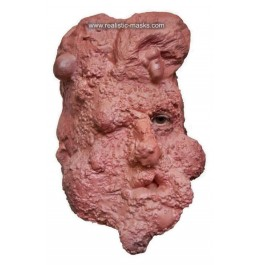 Mutanten Gesicht Horror-Maske