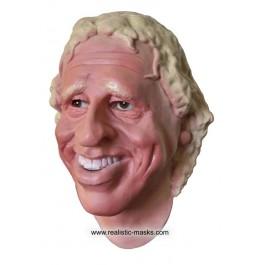 TV Moderator Promi Maske