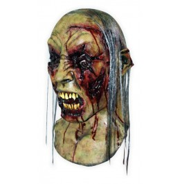 Maske für Halloween 'Verfaulter Zombie'