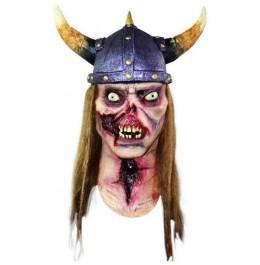Zombie Wikinger Halloween Maske