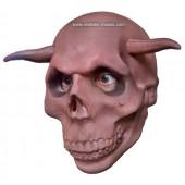 Halloween Maske 'Gehörnter Schädel'