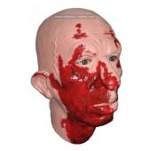 Horror Maske 'Blutverschmiertes Gesicht'