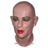 Frauengesichts Latex Maske 'Julie'