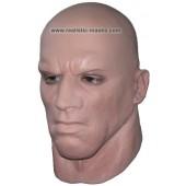 Realistische Maske aus Latex  'Türsteher'