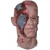 'Cyborg aus der Zukunft' Latex Maske