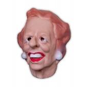Schaumlatex Maske 'Lustige Dame'