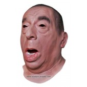 Maske 'Zorniger Mann'