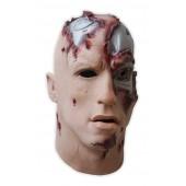 Maske aus Schaumlatex 'Cyborg'