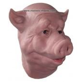 Schweine Maske aus Schaumlatex