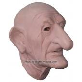 Latex Maske 'Gruseliger Großvater'