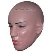 Sexy Vamp Frauengesicht Latex Maske