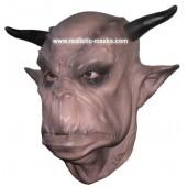 Maske 'Ork' aus Schaumlatex
