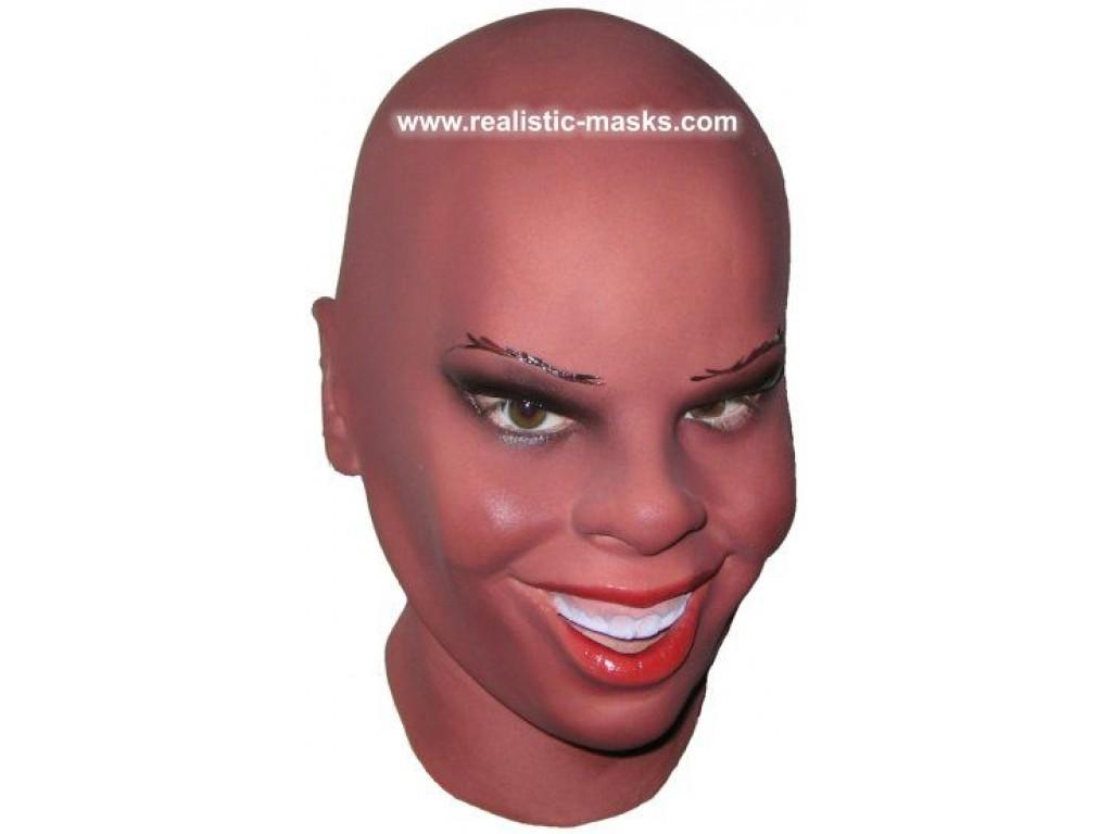 'Black Beauty' Latex Mask. '