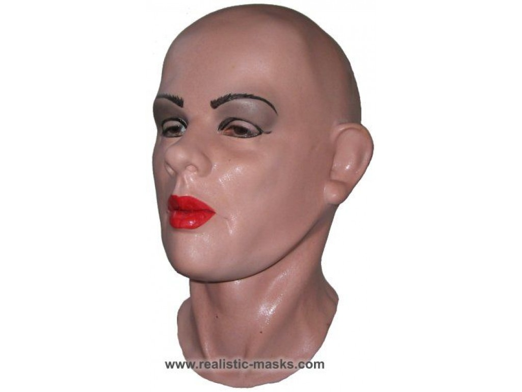 latex crossdresser mask  u0026 39 julie u0026 39