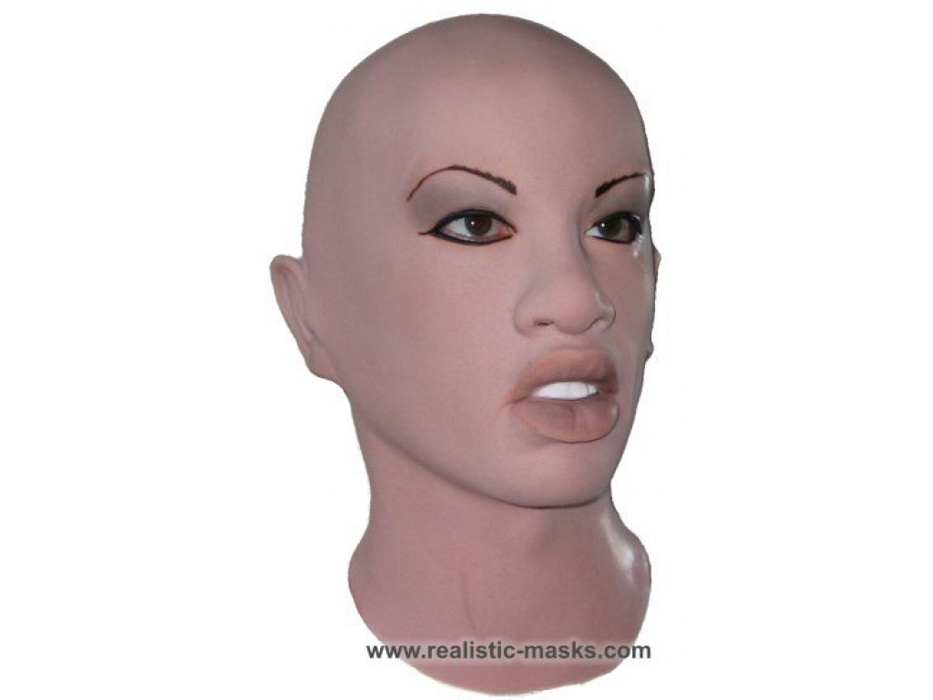 Most realistic female silicone latex masks