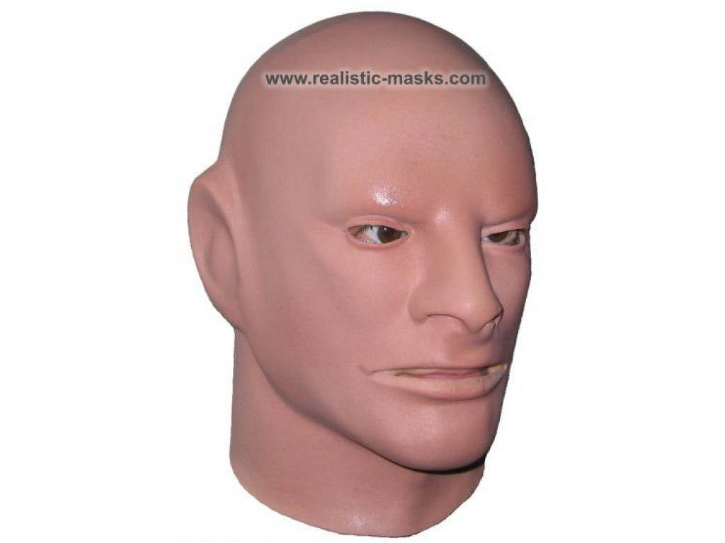 Foam Latex Mask Making 47