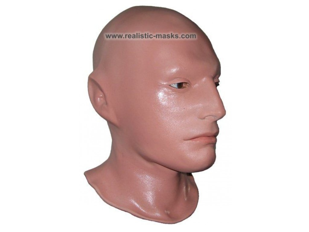 To make a latex mask