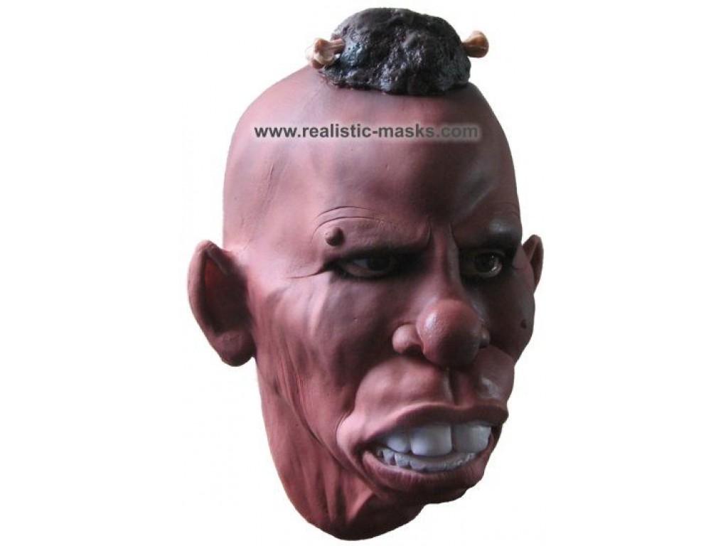 Latex Mask Tribal Chieftain