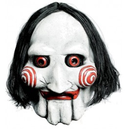 'Jigsaw Puppet' SAW Licensed Movie Mask