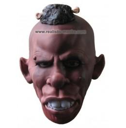 Latex Mask 'Tribal Chieftain'