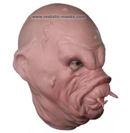 Latex Mask 'Leech Monster'